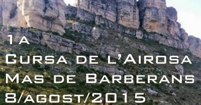 El Mas de Barberans acollirà la 1a Cursa de l'Airosa