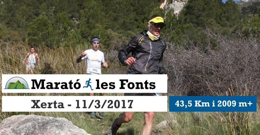 1a Marató de les Fonts