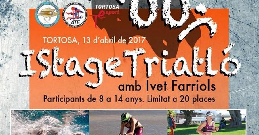 1r Stage Triatló, amb Ivet Farriols