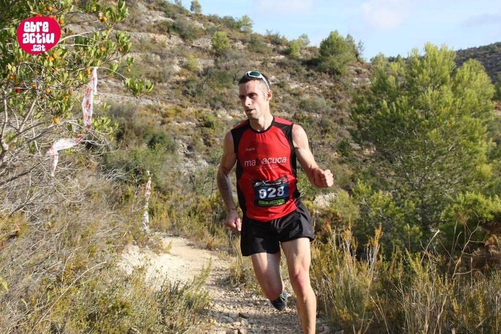 Eduard Hernández i Marta Molist es proclamen campions de Catalunya a la 10a Pujada al Montsià d'Alcanar | EbreActiu.cat, digital d´esports i natura