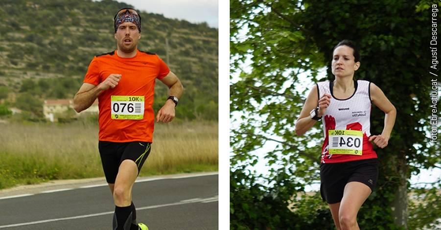 Ulldecona celebra els seus primers 10K amb victòria de Juanma Martínez i Cèlia Callarisa