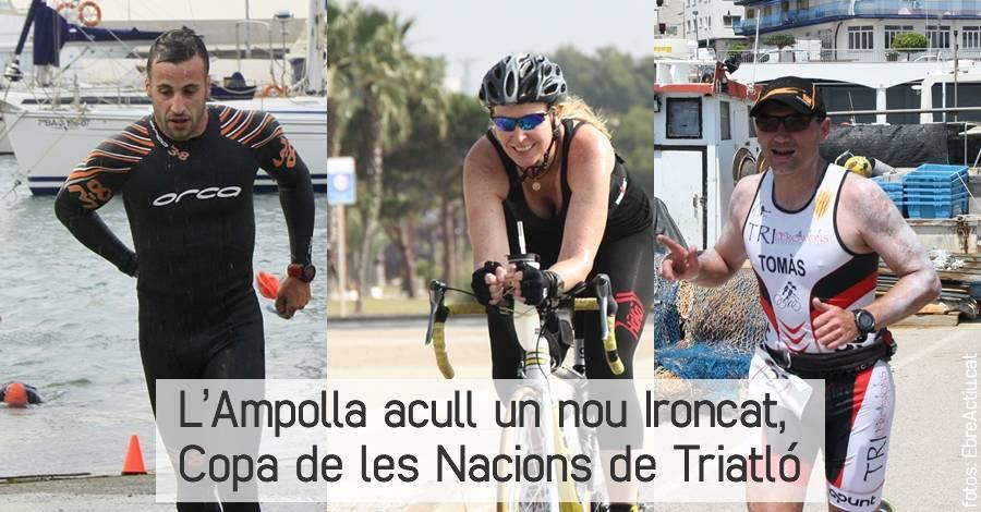 L'Ampolla acull un nou Ironcat, Copa de les Nacions de Triatló