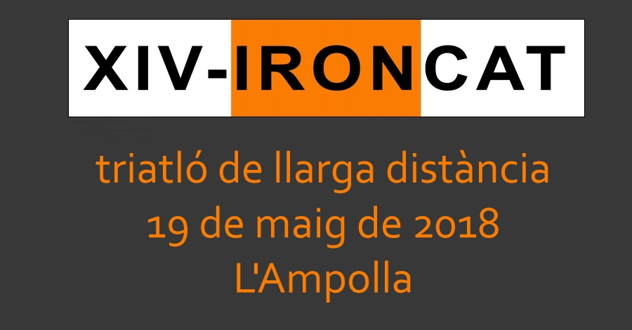 14è IRONCAT - Triatló llarga distància