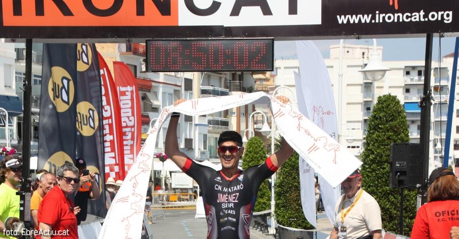 Albert Jiménez i Ivet Farriols guanyadors de l'IRONCAT 2018 de l'Ampolla