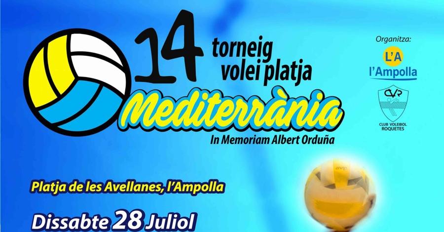 14è Torneig Volei Platja Mediterrània. In memoriam Albert Orduña