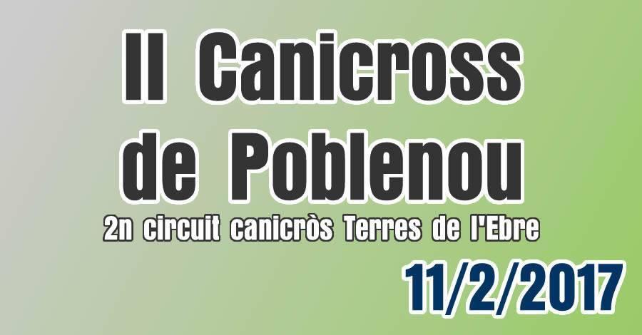 II Canicross De Poblenou