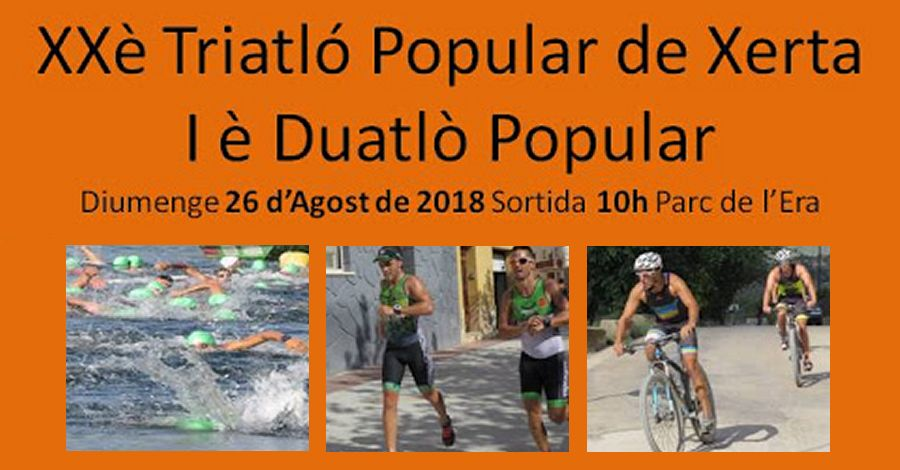 20è Triatló popular i 1r Duatló popular de Xerta