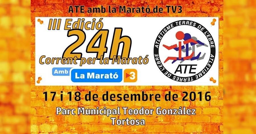 24 hores corrent per la Marató de TV3