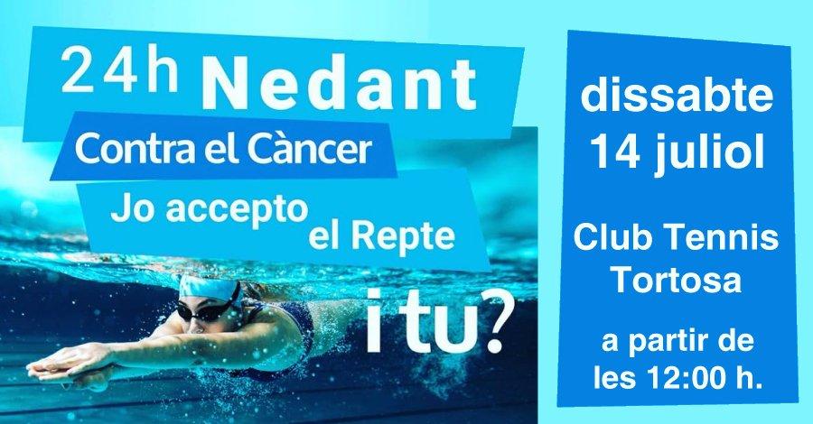 24 hores nedant contra el càncer