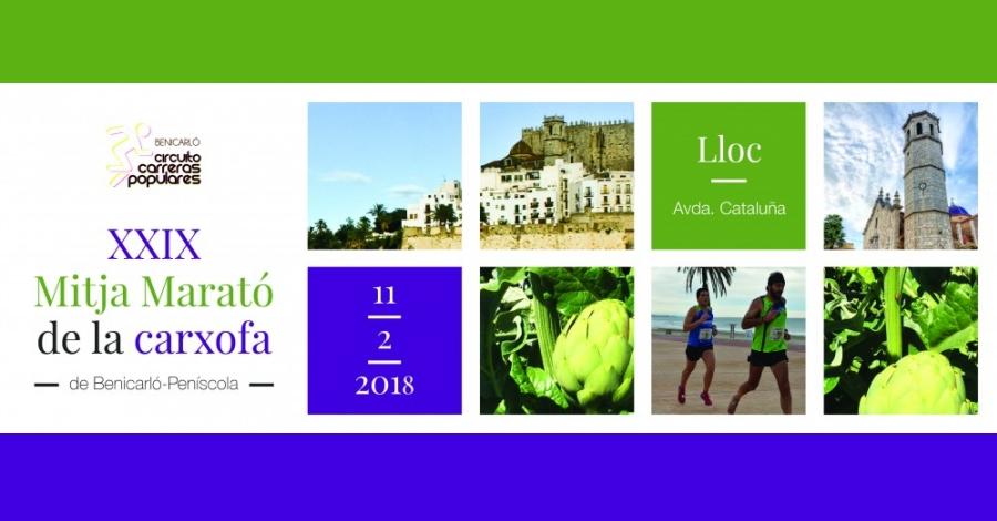 XXIX Mitja Marató de la carxofa Benicarló-Peníscola