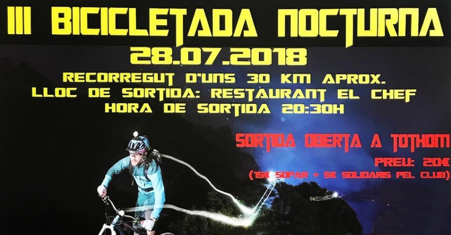 3a Bicicletada nocturna