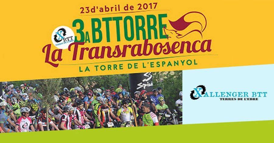 3a cursa BTT «Transrabosenca»