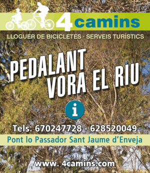 4 CAMINS<br>Els Muntells | EbreActiu.cat, revista digital per a la gent activa
