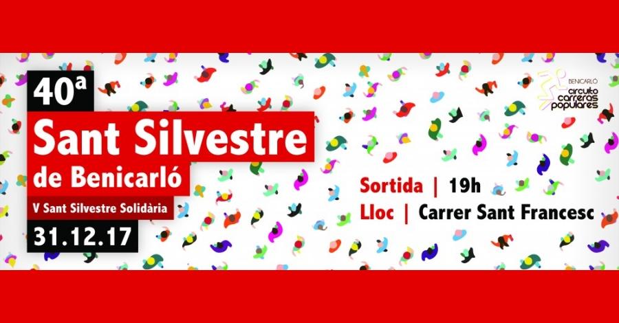 40a Sant Silvestre de Benicarló. V Sant Silvestre Solidària
