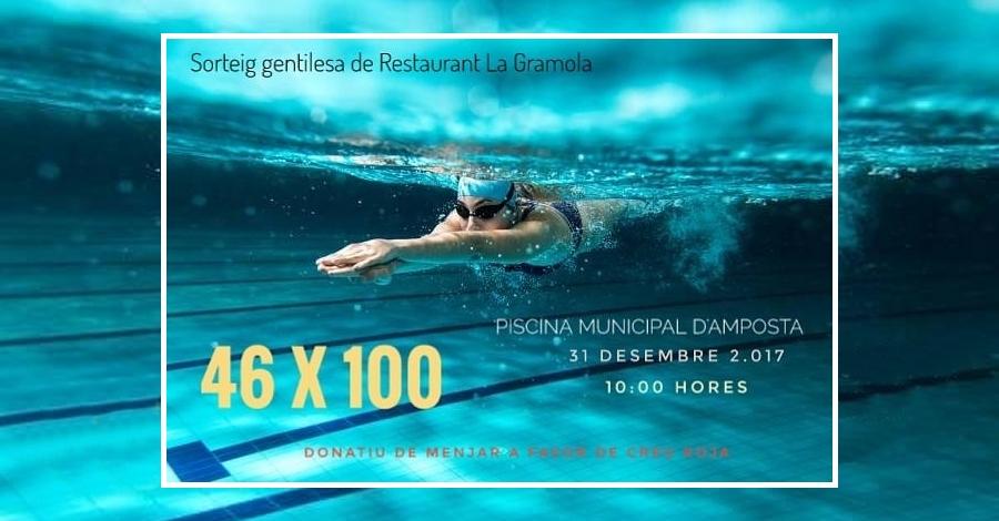 Jornada solidària de natació 46x100