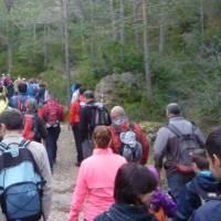 5a marxa de muntanya organitzada per La Joca Club Alpí (6/4/2014)