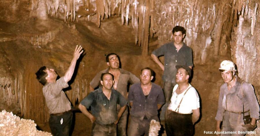 Benifallet celebra el 50è aniversari de la descoberta de les Coves Meravelles