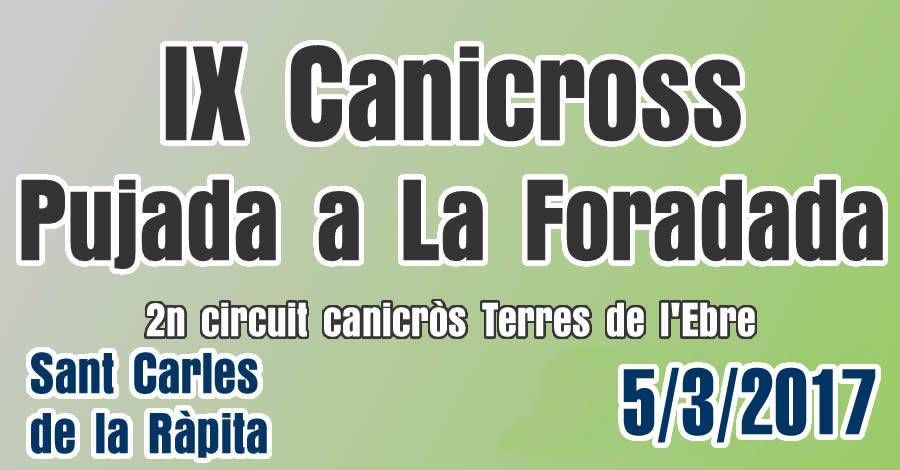 IX Canicross Pujada a La Foradada