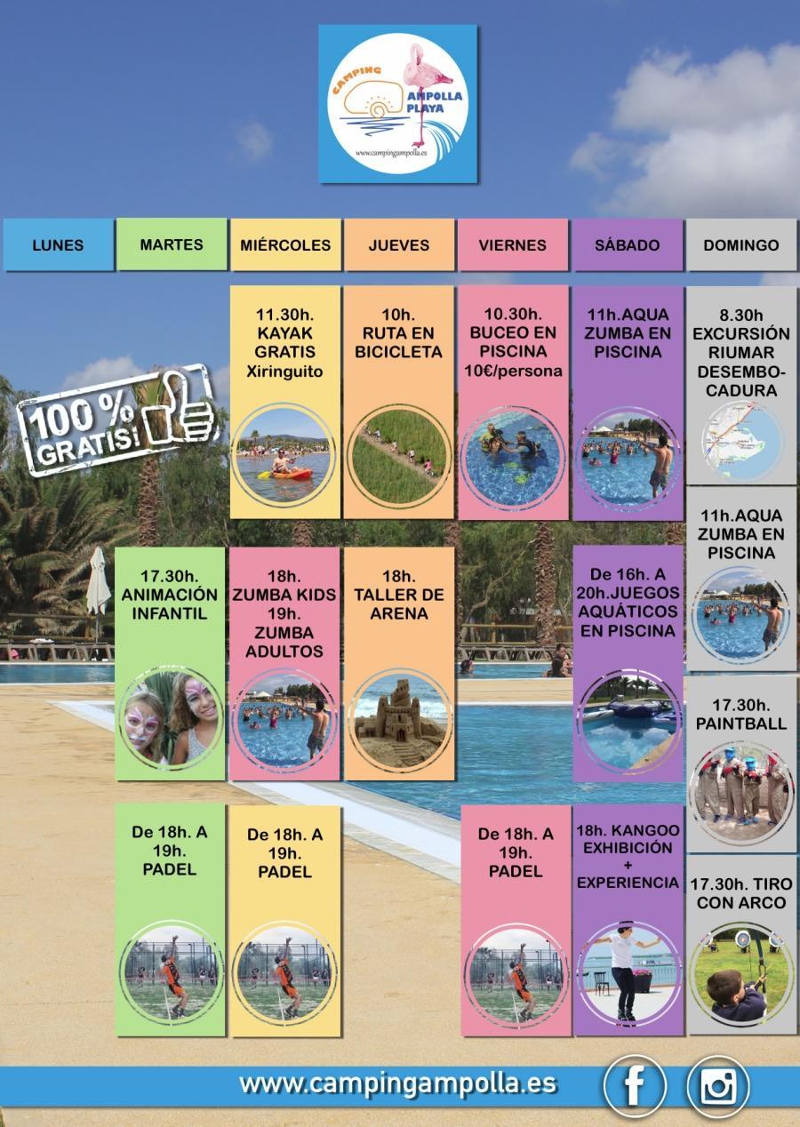 Relax i diversió a la platja? Sí, al Càmping Ampolla Playa   EbreActiu.cat, revista digital per a la gent activa   Terres de l