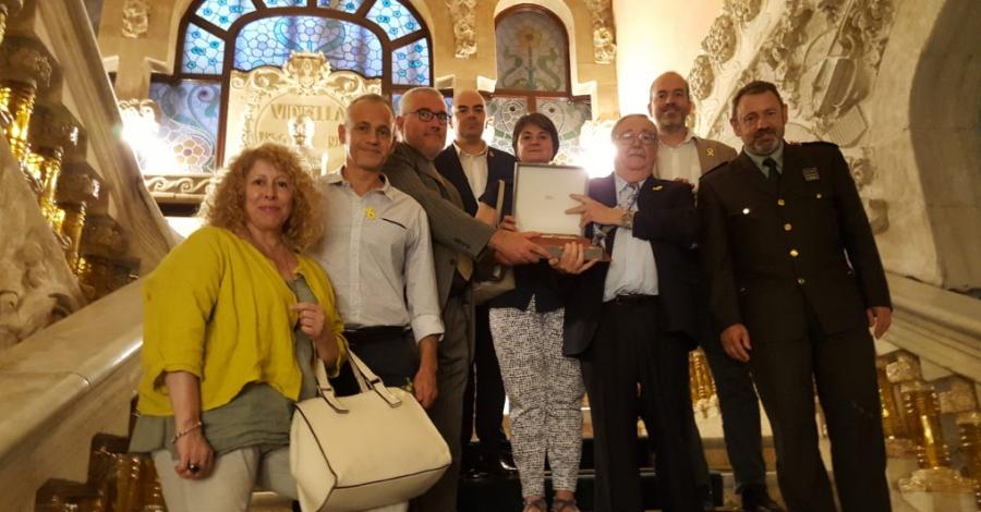Creu de Sant Jordi a les Agrupacions de Defensa Forestal de Catalunya