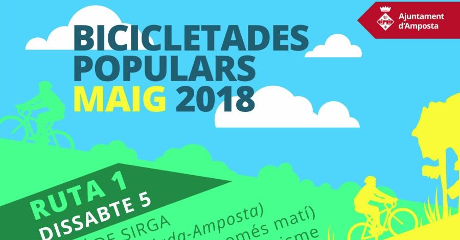 Amposta programa tres bicicletades per visitar el patrimoni cultural i natural de la ciutat