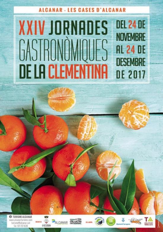 Aquest cap de setmana arranquen les Jornades Gastronòmiques de la Clementina d'Alcanar | EbreActiu.cat, revista digital per a la gent activa
