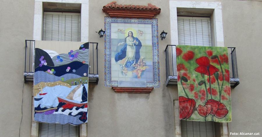 La 3a edició d'Art i Flors i Balcons arranca a Alcanar el 5 de maig amb un espectacle de colors i textures