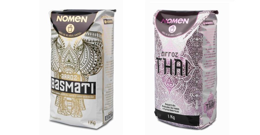 L'arròs Basmati de Nomen aconsegueix el premi Best Award Or al millor packaging
