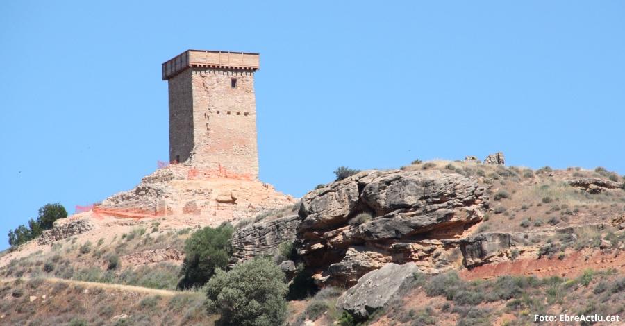 Ascó millora l'accés i l'aparcament al Castell