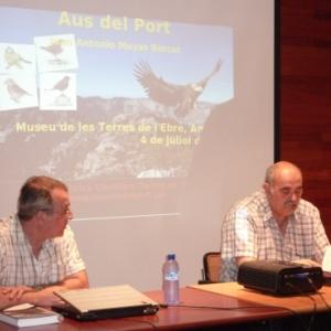 Presentació del llibre «Aus del Port» de J.Antonio Muyas