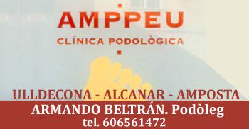 AMMPEU Centro de Podología. Consulta en Ulldecona, Alcanar y Amposta