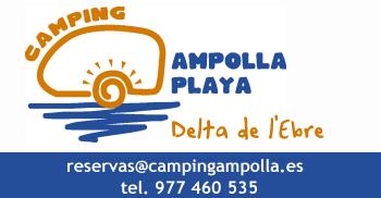Càmping Ampolla Playa. Relax i diversió al Delta de l´Ebre