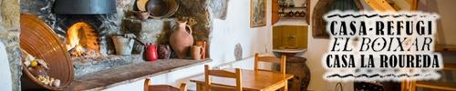 Casa-Refugi La Roureda - El Boixar (La Tinença de Benifassà)