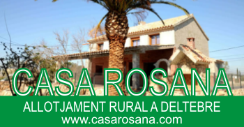 Casa Rosana, allotjament rural a Deltebre