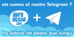 suma´t al telegram d´EbreActiu i ho sabras tot abans que ningú