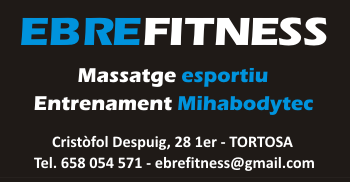 EBREFITNESS, Massatge esportiu i Entrenament Mihabodytec