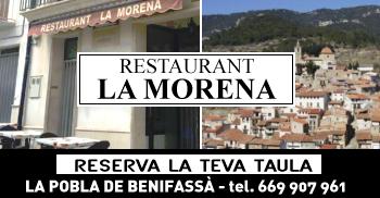 Restaurant La Morena. La Pobla de Benifassà