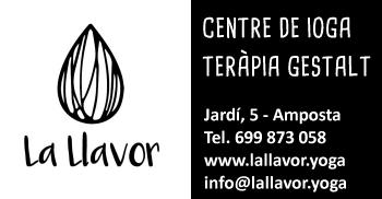 Centre de ioga LA LLAVOR. Jardí, 5 - Amposta - Tel. 699 873 058 (s)