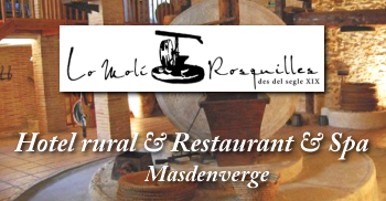 Hotel rural - Restaurant Lo Molí de Rosquilles (s)