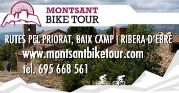 Montsant Bike Tour. Rutes pel Priorat, Baix Camp i Ribera d´Ebre