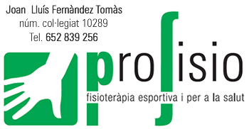 profisio - fisioteràpia esportiva i per a la salut - Amposta - Joan Lluís Fernàndez (col·legiat 10289)