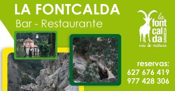 Restaurante La Fontcalda. Gandesa