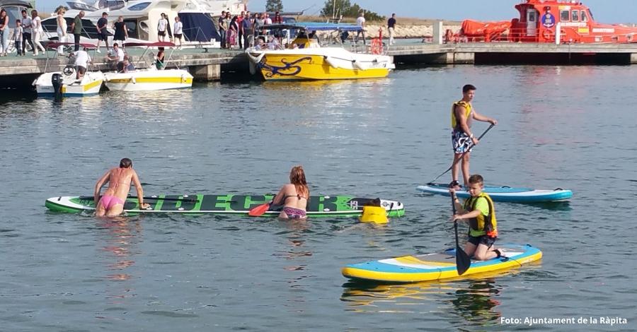 Un miler de persones gaudeixen de la desena edició de la Festa del Mar a la Ràpita | EbreActiu.cat, revista digital per a la gent activa | Terres de l