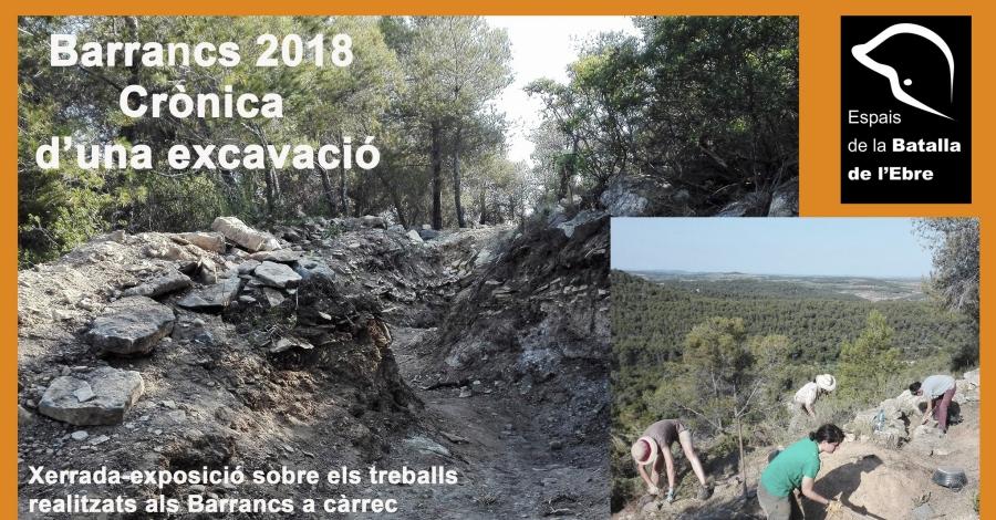 Barrancs 2018. Crònica d'una excavació