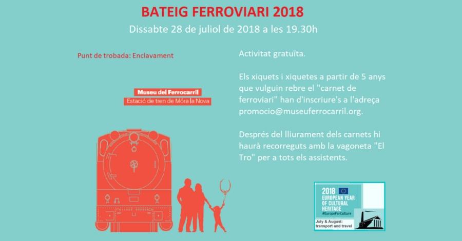 Bateig ferroviari 2018