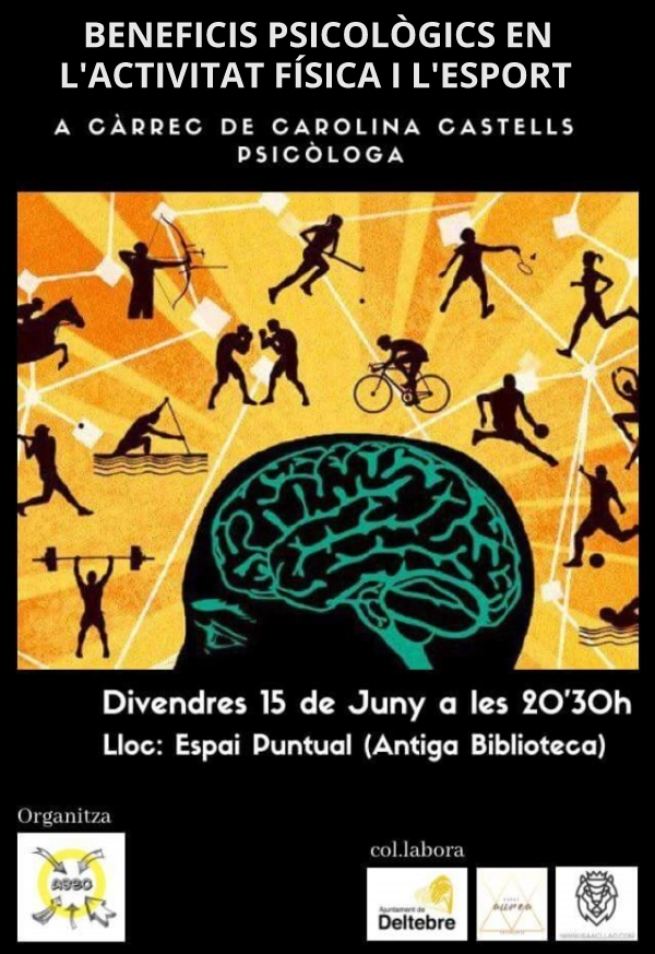 Xerrada «Beneficis psicològics en l'activitat física i l'esport»