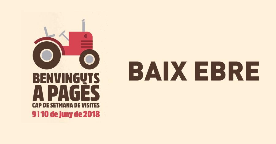 Benvinguts a Pagès - Baix Ebre