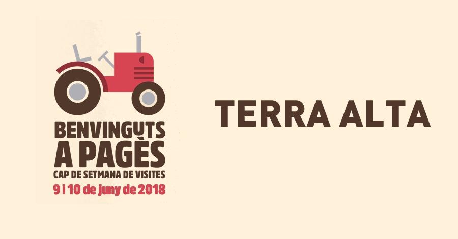 Benvinguts a Pagès - Terra Alta