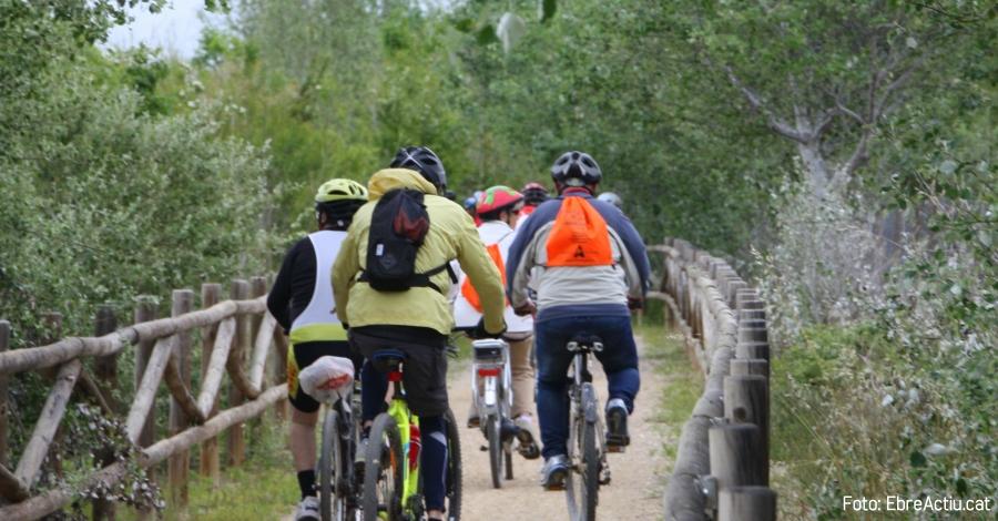 El temps insegur condiciona la participació a la bicicletada Amposta-Balada