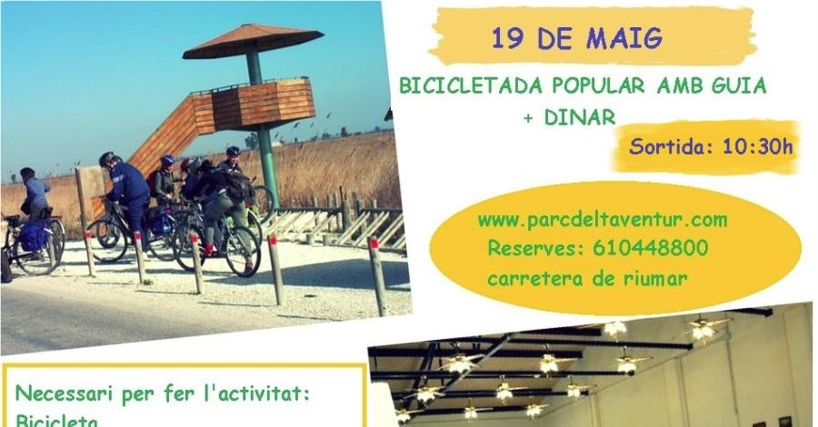 Bicicletada Popular amb Deltaventur